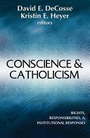 Conscience and Catholicism PDF