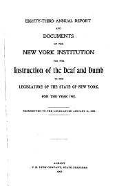 Documents of the Assembly of the State of New York: Volume 12