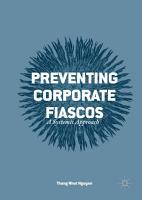 Preventing Corporate Fiascos PDF