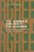 To Agree Or Not to Agree PDF