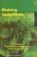 Comprehension Skills  Making Judgments  Middle  PDF