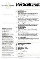 The Horticulturist PDF