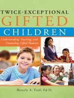 Twice Exceptional Gifted Children PDF