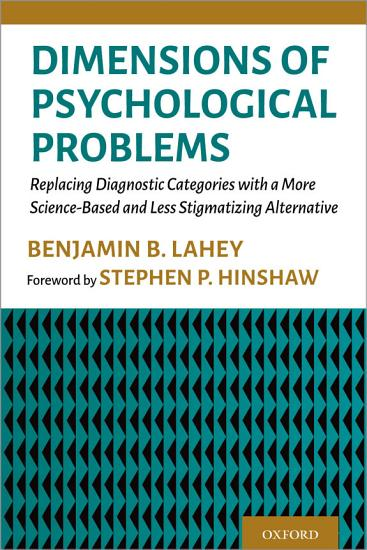 Dimensions of Psychological Problems PDF