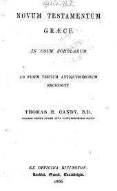 Novum Testamentum græce ...