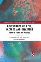 Governance of Risk  Hazards and Disasters PDF