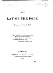 The Lay of the Pope. Solferino, June 24, 1859