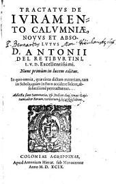 Tractatus de iuramento calumniae