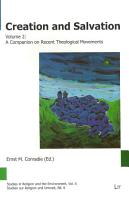 Creation and Salvation  A companion on recent theological movements PDF