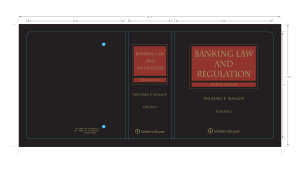 Banking Law and Regulation  2nd Edition PDF