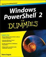 Windows PowerShell 2 For Dummies PDF