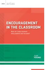 Encouragement in the Classroom PDF