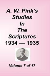 A. W. Pink's Studies in the Scriptures: Volume 7
