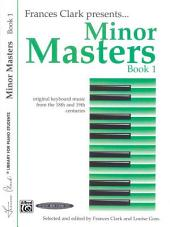 Minor Masters, Book 1: For Piano