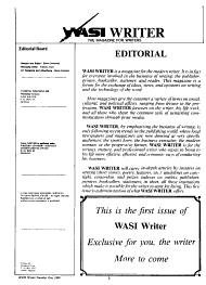 WASI Writer PDF