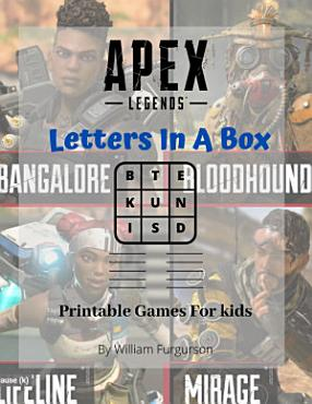 Apex Legends Printable Kids Game  Letters In A Box Kids Game  Apex Legends Game Book For Kids And Adults  Find All The Words From the Letters In The Box PDF