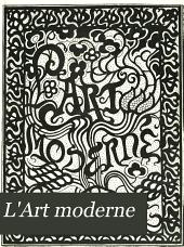 L'Art moderne: Volume19