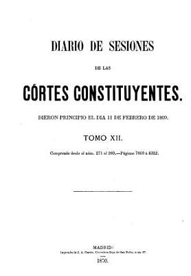 Diario de sesiones de las C  rtes Constituyentes de la Rep  blica Espa  ola PDF