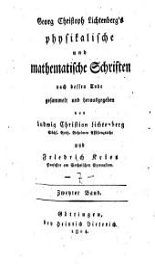 Georg Christian Lichtenberg's vermischte Schriften: Band 7
