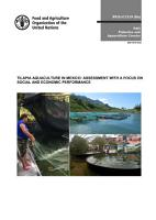 Tilapia Aquaculture in Mexico   Assessment with a focus on social and economic performance PDF