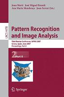 Pattern Recognition and Image Analysis PDF