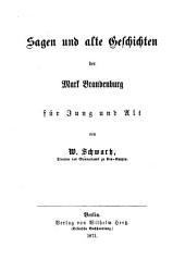 Sagen und alte geschichten der mark Brandenburg