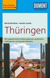 DuMont Reise-Taschenbuch Reiseführer Thüringen: Ausgabe 3