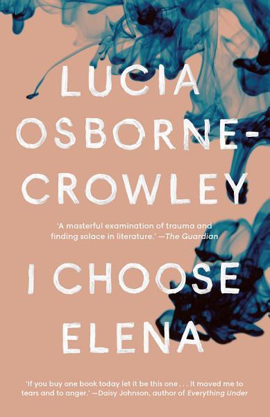 Download I Choose Elena Book