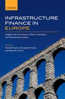 Infrastructure Finance in Europe PDF