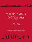 Yup  ik Eskimo Dictionary PDF