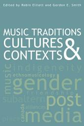 Music Traditions, Cultures, and Contexts