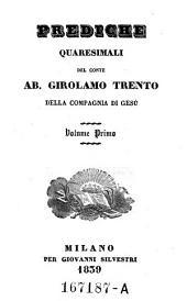 Prediche Quaresimali Del Conte