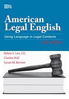 American Legal English  2nd Edition PDF