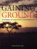 Gaining Ground PDF