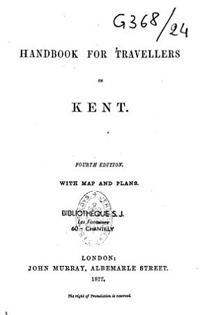 Handbook for Travellers in Kent PDF