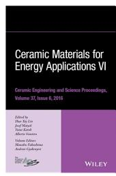 Ceramic Materials for Energy Applications VI