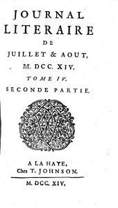 Journal litéraire: Volume2;Volume4
