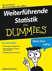 Weiterf  hrende Statistik f  r Dummies PDF