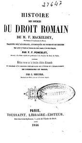 Histoire des sources du droit romain