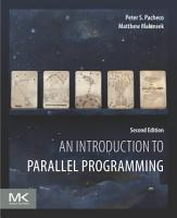 An Introduction to Parallel Programming PDF
