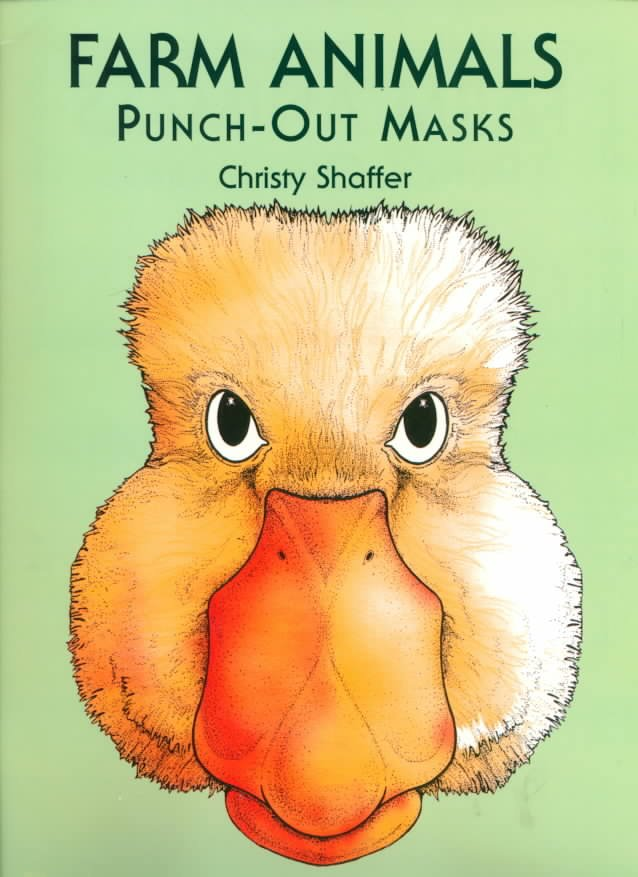 Farm Animals Punch-Out Masks