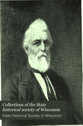 Collections of the State Historical Society of Wisconsin: Volume 8