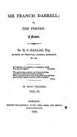 Sir Francis Darrel  Or  The Vortex PDF
