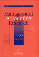 Management Accounting Research PDF