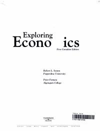 Exploring Economics PDF