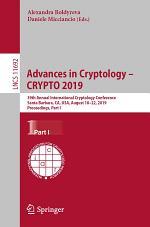Advances in Cryptology – CRYPTO 2019