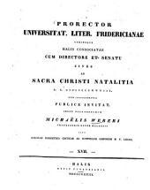 Eclogae exegetico-criticae ad nonnullos librorum N. T. locos