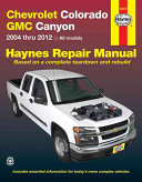 Chevrolet Colorado GMC Canyon 2004 thru 2012 PDF