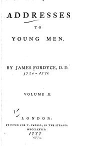 Addresses to Young Men ...