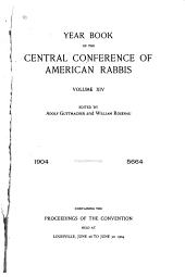 Yearbook of the Central Conference of American Rabbis